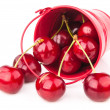 Stock Photo: Tasty red cherry