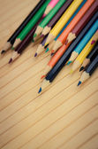 Closeup of pencils — Stock Photo