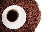 Coffee cup isolated — Stock Photo