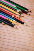 Closeup of pencils — Stock Photo