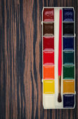 Paints palette — Stock Photo