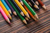 Set of coloured pencils — Stock Photo