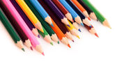 Color pencils isolated — Stock Photo