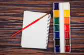 Paints for drawing — Stock Photo