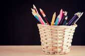 Set of coloured pencils — Stock Photo