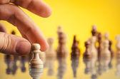 チェスのゲーム — ストック写真