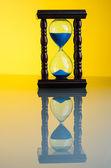Hourglass clock — Stock Photo