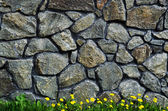 Rock stone wall — Stock Photo