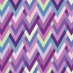 Asymmetric seamless herringbone inlay. Multicolored zigzag — Stock Vector #26961717