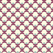 Seamless inlay of wavy lines. Vector mesh pattern — Stock Vector