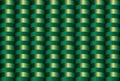 Seamless inlay of the brilliant green semirings — Stock Vector