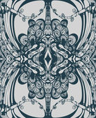 Seamless ornament complicated. — 图库矢量图片
