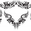 Stock Vector: Tribal tattoo pattern