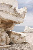 Ancient ruins - detail — Stock Photo
