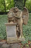 喪に服して天使 — ストック写真