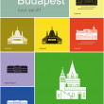 Постер, плакат: Icons of Budapest