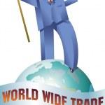 World Trade Walker — Stock Vector #51309011