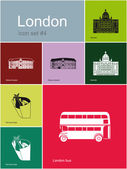 Icons of London — Stock Vector