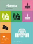 Icons of Vienna — Vecteur
