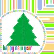 Stock Photo: Merry christmas and happy new year background