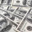 Stock Photo: Money background from dollars usa