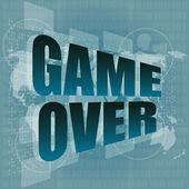 タッチ スクリーンにメッセージ以上のゲーム — ストック写真