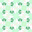 Seamless owls pattern — Stock Photo