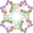 Seamless flower pattern — Foto de Stock