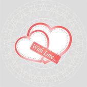 Valentinstag-Karte - Ferienkonzept — Stockfoto