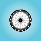 Bicycle Wheel Symbol — Stock Photo