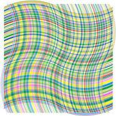 абстрактный фон с изогнутой волны. векторные иллюстрации. — Стоковое фото