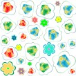 Royalty-Free Stock Photo: Happy birthday seamless background pattern. Illustration