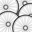 Royalty-Free Stock Photo: Bike bicycle wheel background