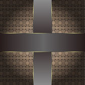 Brown vintage background pattern — Stockfoto