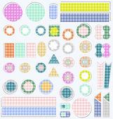 Conjunto de elementos lindo scrapbook — Foto de Stock