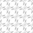 Stock Photo: Black and white geometric seamless patterns