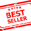 Stock Photo: Best seller rubber stamp illustration