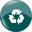 Icon Series - Recycle Sign — Stock Photo