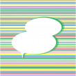 Thought bubbles and absctact speech bubbles or clouds - Stockfoto