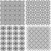 Collection de fonds jeu, des motifs géométriques sans soudure — Photo