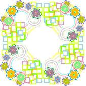 Floral seamless pattern. Flower Garden — Stock Photo