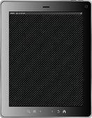 孤立在白色背景上的黑色屏幕的现实 tablet pc 计算机。矢量 eps10 插画 — 图库照片