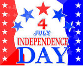Independence Day Design — Stock Photo
