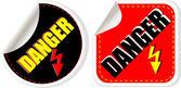 High voltage danger sign, symbol — Stock Photo