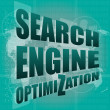 Search Engine Optimization - SEO Sign in Browser Window — Stock Photo