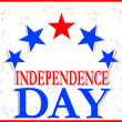 Stock Photo: Independence Day Design
