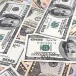 Background of American money — Stock Photo
