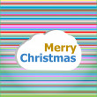 Seamless abstract pattern background with merry christmas words — Stock Photo