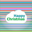 Seamless abstract pattern background with happy christmas words — Stock Photo