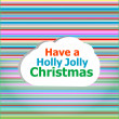 Seamless abstract pattern background with have a holly jolly christmas words — Stock Photo #37137555